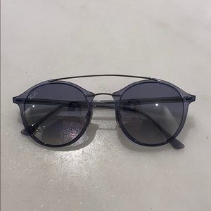 Light Blue Gradient Ray Bands Never Been Worn